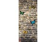 Fototapeta AG Butterfly on the Wall FTNV-2905 | 90x202 cm Fototapety