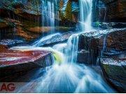 Fototapeta AG Waterfall FTNXXL-2426 | 360x270 cm Fototapety