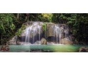 Fototapeta AG Waterfall FTNH-2743 | 202x90 cm Fototapety