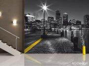 Fototapeta AG Noční město FTS-1317 | 360x254 cm Fototapety skladem