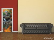 Fototapeta Autumn mill FTNV-2872 | 90x202 cm Fototapety skladem