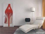 Fototapeta Red shoe FTNV-2814 | 90x202 cm Fototapety