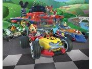 3D Fototapeta Mickey Mouse závody Walltastic 45293 | 305 x 244 cm Fototapety