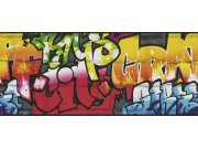 Bordura Kids & Teens graffiti 237900 Rasch