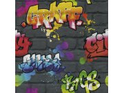 Tapeta Kids & Teens graffiti 237801 Rasch