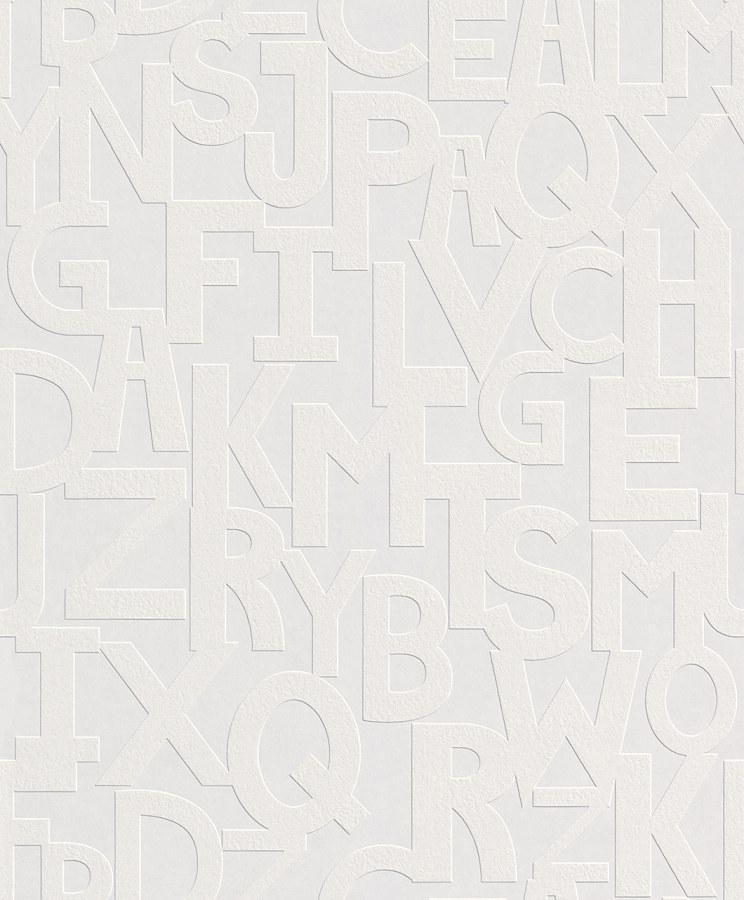 Přetíratelná Tapeta Wallton 143508 - Rasch