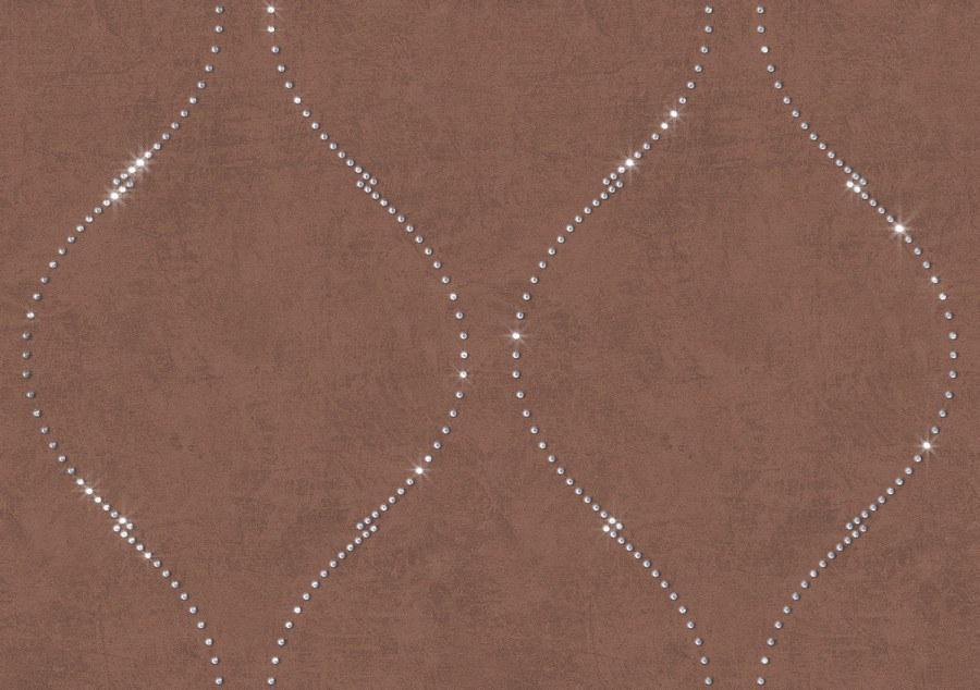 Tapeta s křišťálem Briolette 8105 - Rasch