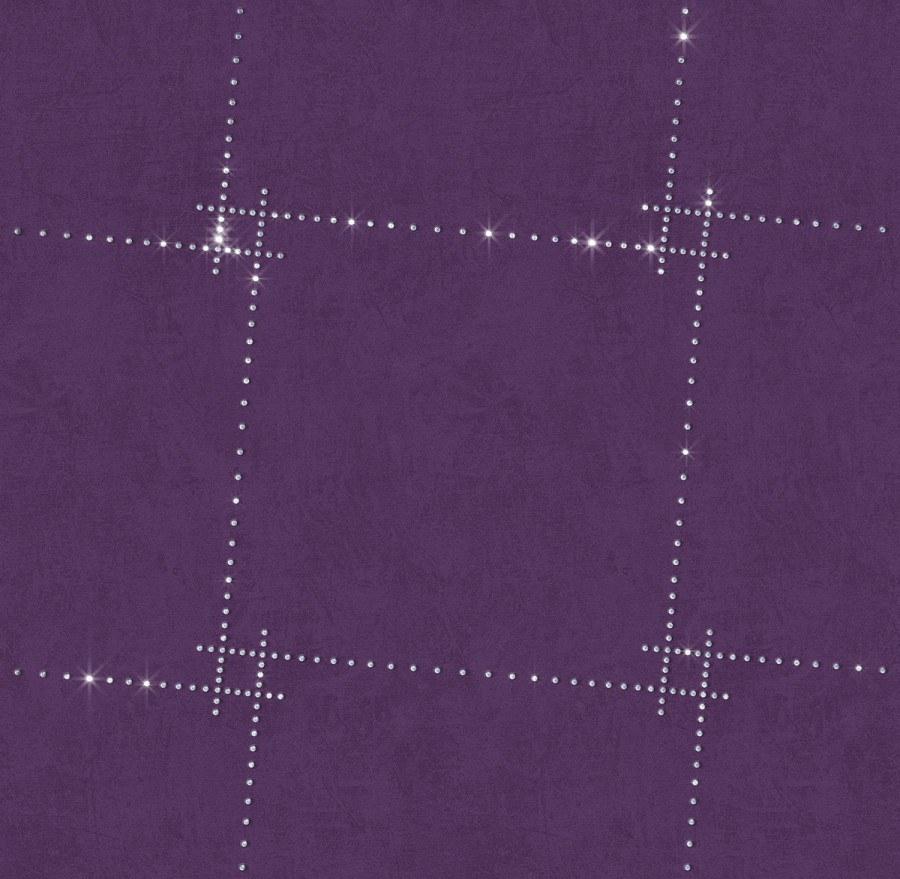 Tapeta s křišťálem Cube 8411 - Rasch