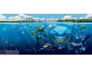 Fototapeta Nemo a Žralok FTDNH-5313 | 202x90 cm Fototapety