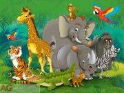 Fototapeta AG Zvířata v Africe FTNXXL-2420 | 360x270 cm Fototapety