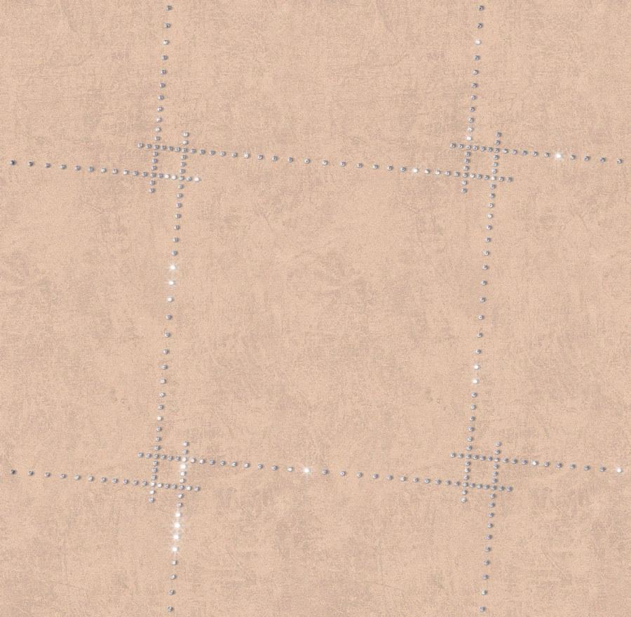 Tapeta s křišťálem Cube 8403 - Rasch