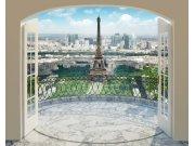 3D Fototapeta Walltastic Paříž 43589   305x244 cm Fototapety skladem