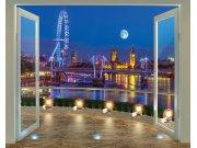 3D Fototapeta Walltastic Londýn 43596   305x244 cm Fototapety skladem