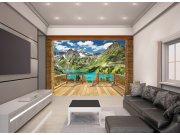 3D Fototapeta Walltastic Alpy 43619 | 305x244 cm Fototapety skladem