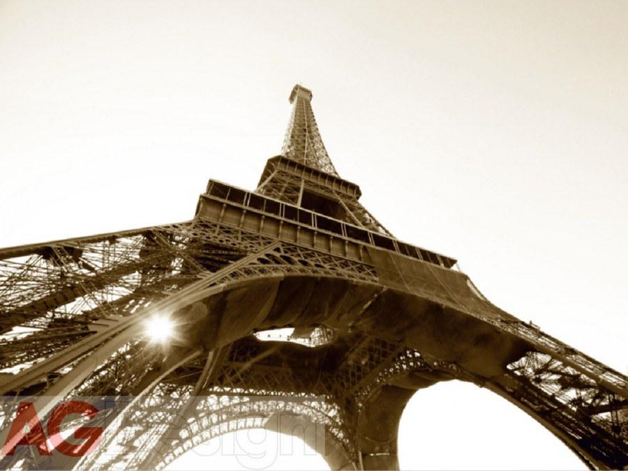 Fototapeta AG Eiffelova věž FTS-0172 | 360x254 cm - Fototapety skladem