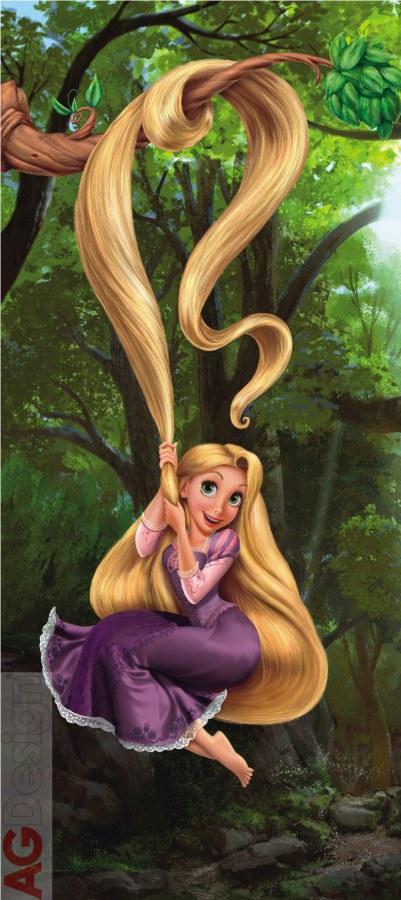Fototapeta AG Rapunzel FTDV-0233 | 90x202 cm - Fototapety skladem